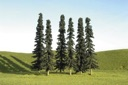 B32003 - 5 - 6 INCH CONIFER TREES (6)