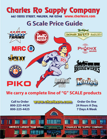 G Scale Price List