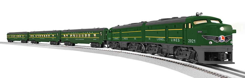 L82726 Lionel Lines Postwar Alco Fa Set With 3 Passenger C