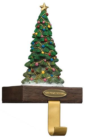 Christmas Tree Stocking Holder.L33059 Pe Np Tree Stocking Holder 15h