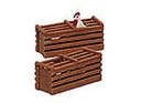 B92412 - CHICKEN CRATES (SET OF 2)(LS)
