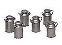 B92413 - MILK CANS (SET OF 6) (LS)