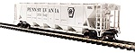 BL4086 - HO PRR GRAY H32 COVERED HOPPER