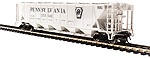 BL4088 - HO PRR GRAY H32 COVERED HOPPER