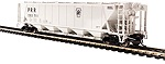 BL4089 - HO PRR GRAY H32 COVERED HOPPER