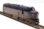 BL4148 - HO B&O SHARKNOSE A UNIT #4208 BLUE/GOLD PARAGON 3 SND/DC/DCC
