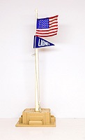 L0089RN - O FLAGPOLE USED AS IS