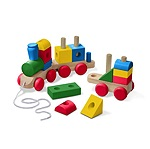 MD30544 - WOODEN JUMBO STACKING TRAIN