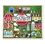 MD4800 - WOODEN FARM/TRACTOR PLAY SET