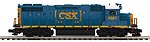 MT20209051 - CSX GP38 DL PS3 (18V1)