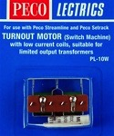 PCPL10W - HO TURNOUT MOTOR W/LOW CURRENT