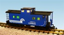R12159 - CONRAIL CENTER CUPOLA CAB-BLUE
