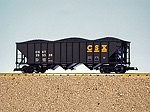 R14011 - CSX 70 TON 3-BAY HOP BLACK