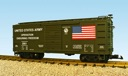 R19072 - US ARMY OPERATION ENDURING FREEDOM BOXCAR GREEN