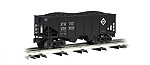 W48204 - ERIE 55 TON 2 BAY COAL HOPPER
