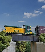 WA9334500 - HO  30' SINGLE TRACK RAILROAD THROUGH GIRDER KIT