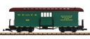 G36846 - WHITE PASS BAGGAGE CAR