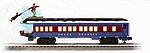 L85400 - PE SKING HOBO OBSERVATION CAR (WHITE ROOF)