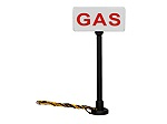LH1956200 - HO GAS LITED SIGNS 2PK