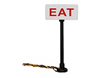 LH1956210 - HO EAT LITED SIGNS 2PK