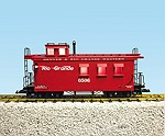 R12001 - RIO GRANDE WOODSIDED CABOOSE