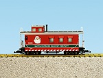R12026 - CHRISTMAS CABOOSE-RED/GREEN