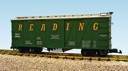 R1447A - READING #89864 (GREEN) OUTSIDE BRACED BOXCAR