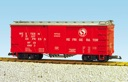 R1450A - GN #63632 OSB BOXCAR - RED/SIL