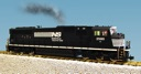 R22604 - NS SD70 MAC BLACK/WHITE