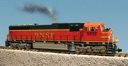 R22605 - BNSF SD70 MAC - ORANGE/GREEN
