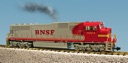 R22606 - BNSF SD70 MAC - RED/SILVER