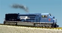 R22616 - UP-MISSOURI PACIFIC HERITAGE TWO TONE BLUE