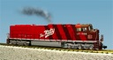 R22618 - UNION PACIFIC-KATY HERITAGE RED/MAROON