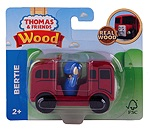 TGGG45 - WOOD BERTIE THE BUS RED