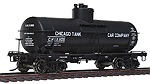 WA100301 - HO CHICAGO TANK CAR 8000G