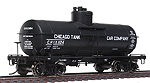 WA100302 - HO CHICAGO TANK CAR 8000G