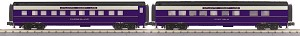 MT3068020 - ATLANTIC COAST 2 CAR SET(18/1) STEAMLINED SLEEPER/DINER