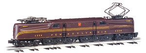 W41851 - PRR SCALE GG1-TUSCAN 5 STRIPE WITH TRUE BLAST PLUS