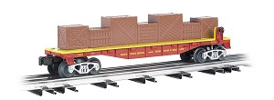 W47556 - RING/BROS B&B FLAT CAR W/CRATE