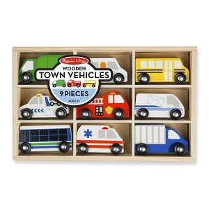 MD3170 - WOODEN TOWN VEHICLES (9)