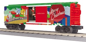 MT3079642 - CHRISTMAS OPERATING BOXCAR W/ SANTA (19)