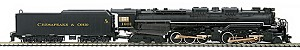 MT8032491 - C&O 2-6-6-6 ALLY W/PS3 (14V1)